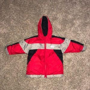 Nike coat (reversible)